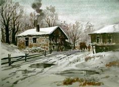 Ömer Muz Karadeniz Yaylada Kış