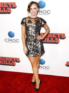 Karina Smirnoff Suffers Nip Slip at Machete Kills Premiere #KarinaSmirnoff #DancingWiththeStars #mini-dress, #Machete http://celebposts.com/news/karina-smirnoff-suffers-nip-slip-at-machete-kills-premiere/