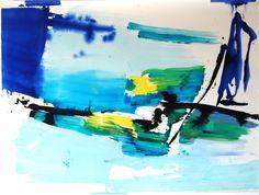 Ana Sério Reflexo (turvo) da Luz #2, 2015, 97x130cm #AnaSério #Artist #Art #Oil #Painting #Color #Portugal #Gallery #SaoMamede #Artwork