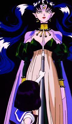 ネヘレニア Queen Nehelenia from Sailor Moon anime Sailor Mars, Sailor Moon Girls, Sailor Moon Manga, Sailor Saturno, Sailor Moon Villains, Luna And Artemis, Princesa Serenity, Sailor Moon Character, Kawaii Chibi