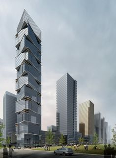 The Edge Building Southern Island of Creativity / Chengdu Urban Design Research Center