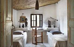 Bedroom. Spanish home