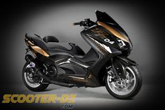 Tuning : TMax 530 R Carbon Edition by AD Koncept