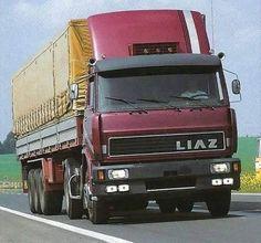 LIAZ 110.551 4x2 tahač návěsů řady 110