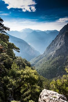 Roar Lysen posted a photo: At the top of the Samaria Gorge on the island of Crete. Before starting on 3000 steps an hike through the gorge. Nothing for bad knees! Bad Knees, Greece, To Go, Around The Worlds, Hiking, Island, Mountains, Places, Travel