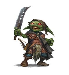 Goblin characters for the role-playing game Pathfinder. Fantasy Character Design, Character Concept, Character Inspiration, Character Art, Fantasy Races, Fantasy Rpg, Fantasy Artwork, Dnd Characters, Fantasy Characters