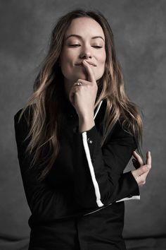 Olivia Wilde photographed by Ungaro + Agriodimas for La Ligne. Melanie  Ellen Heart 38b0cd1ad35