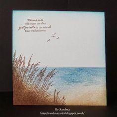 Sandma's Handmade Cards: Peaceful Sea