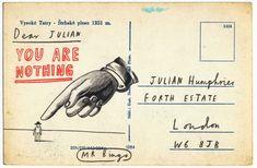 """Dear Julian, You Are Nothing"""