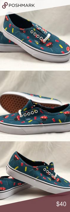 67dbce77ad Vans Authentic Pool Vibes Blue Ashes True White. Vans Authentic Pool Vibes Blue  Ashes