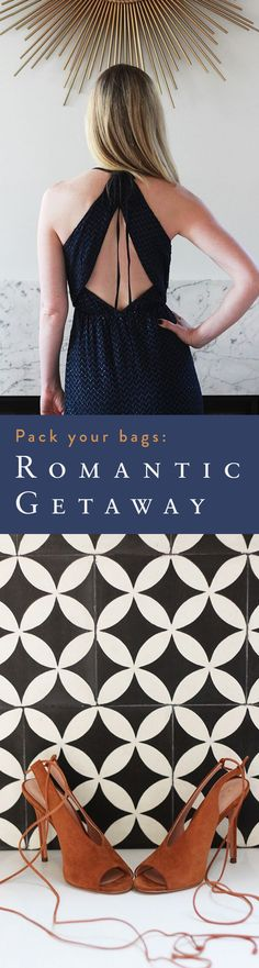 Destination and packing list picks that will inspire you for your next romantic getaway.