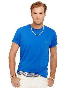 Cotton Crewneck T-Shirt - Big & Tall New Arrivals - RalphLauren.com