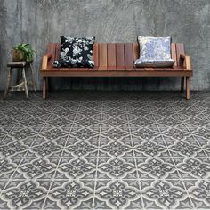 Merola Tile Braga Black 7-3/4 in. x 7-3/4 in. Ceramic Floor and Wall Tile (10.76 sq. ft. / case) FTC8BRBK at The Home Depot - Mobile