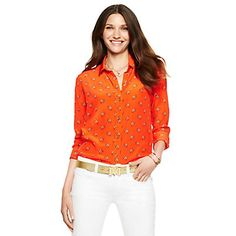 Just fell in love with the Silk Marching Camels Shirt for $128 on C. Wonder! Click on the image and receive 20% off your next full-price purchase and find something you love too!