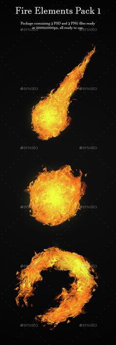 Fire Elements Pack 1 - Miscellaneous #Backgrounds Download here: https://graphicriver.net/item/fire-elements-pack-1/15468252?ref=alena994