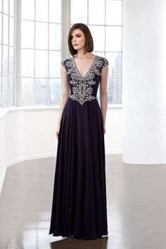 Eleni Elias Collection Official Web Site - Mother of the Bride Collection - Style M206