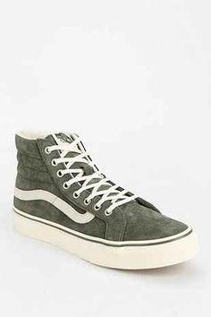Vans Sk8-Hi Scotch Suede Womens High-Top Sneaker $75