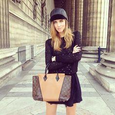 .@Chiara Ferragni | A @Louis Vuitton Official kinda morning #pfw #theblondesaladgoestoparis | Webstagram - the best Instagram viewer