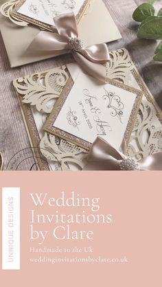 Pocketfold Invitations, Bespoke Wedding Invitations, Rustic Wedding Inspiration, Ribbon Colors, Gold Wedding, Color Splash, Champagne, Charlotte, Gift Wrapping