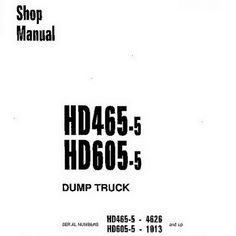 Komatsu 95 Series Diesel Engine Service Repair Shop Manual
