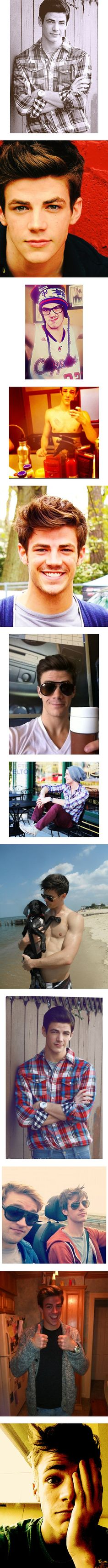 """grant gustin"" by izzy-xoxo ❤ liked on Polyvore"