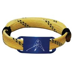 Hockey Lace Bracelet Player Adjustable Wrister Bracelet