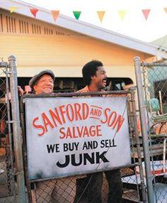 Sanford and Son. Redd Foxx and Demond Wilson.