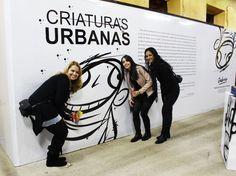 Mostra Criaturas Urbanas do Artista Visual Anderson de Souza. Fotos Elomar Fontes