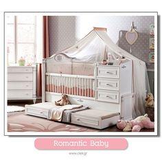 "ab378c9afc3 Παιδικά Δωμάτια ΑΦΟΙ ΜΑΤΙΑΔΗ on Instagram: ""Romantic Baby, Μια υπέροχη  ρομαντική πρόταση σε βρεφική κούνια για την μικρή σας κόρη, δείτε όλο το  Βρεφικό ..."