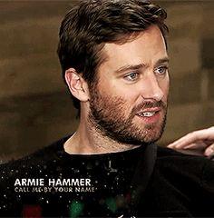 Ben scruff! || Armie Hammer