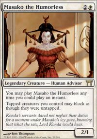 Masako the Humorless, Magic, Champions of Kamigawa