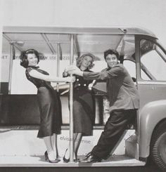 """1957, MGM PR shots for """"Jailhouse Rock,"""" from... -"""