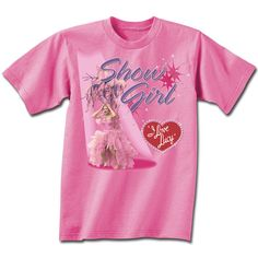 d478e4e7 I Love Lucy Showgirl T-Shirt | LucyStore.com Lucille Ball, Television,