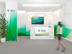 Office Interior Branding Mockups V2   GraphicRiver
