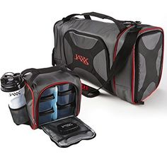 Jaxx Dual Fuel Pack with Portion Control Containers  Shaker Cup  Price : $79.99 http://shop.fit-fresh.com/Jaxx-Portion-Control-Containers-Shaker/dp/B00XLLML4S