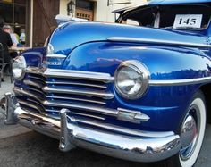 Classic Cars Best In Show 1948 Plymouth Sedan Car Paint