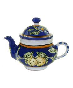Le Souk Ceramique Citronique Teapot   zulily