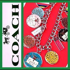 Hp 7/23/17coach Hangtag Toggle Necklace