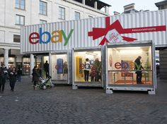 Ebay pop up store, covent garden.