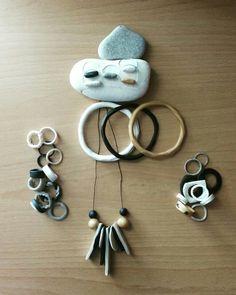 Jewels. Polymer clay. Rings/Bracelets/Pendants