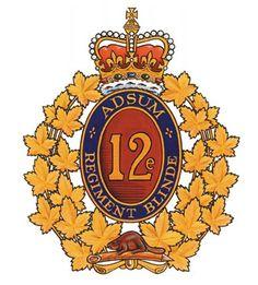 12e Regiment Du Blinde.