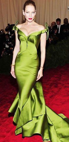 Elegant. Great color.  (Zac Posen) #Reception Dress Options / Aisle Perfect