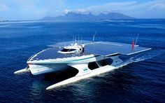 planetsolar: the first solar-powered boat around the world
