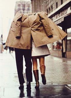 {style inspiration: the eternally chic trench coat} (by {this is glamorous})