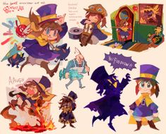 a hat in time Time Tumblr, Character Art, Character Design, A Hat In Time, So Creative, Art Memes, Girl With Hat, Funny Games, Time Art