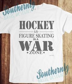 Hockey War Zone T-Shirt