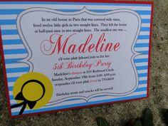 Madeline Party