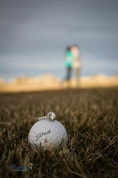 Engagement Photo, Golf Theme!