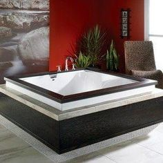 Two-Person Jetted Tub | Jetted two person bathtub by patty