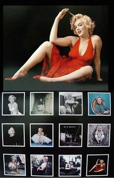 """This collectible calendar features a different picture of Marilyn Monroe for each month. It measures 12"""" tall and 12"""" wide. Brand New Factory Sealed"""